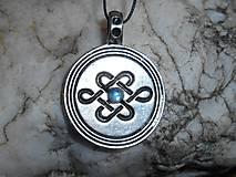 Šperky - celtic amulet -nekonečný uzol II - 9376884_