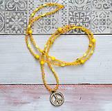 Náhrdelníky - Zľava z 7€ na 4€ Dlhý korálkový náhrdelník