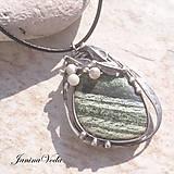 Náhrdelníky - LUKE náhrdelník ( serpentin ) - 9375092_