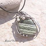 Náhrdelníky - LUKE náhrdelník ( serpentin ) - 9375097_