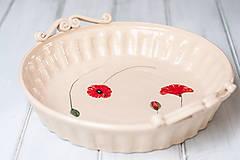 Nádoby - Forma na koláč- Vlčí mak - 9374687_
