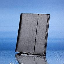Papiernictvo - Kožený zápisník / karisblok ZMEJSS - A5 (Čierna) - 9376429_