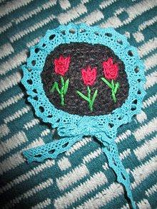Odznaky/Brošne - ...pán tulipán... - 9376205_