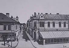 Kresby - Kresba - Mesto Poprad - 9378180_