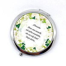 Zrkadielka - Zrkadielko - Svadobné s brečtanom - 9378164_