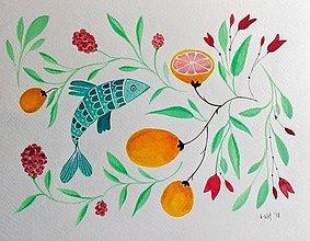 Obrazy - V kuchyni ilustracia / originál maľba - 9378196_