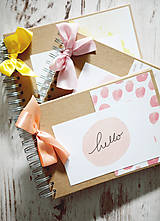 Papiernictvo - Scrapbook album na fotografie / kniha hostí - 9379675_