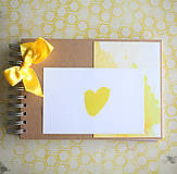 Papiernictvo - Scrapbook album na fotografie / kniha hostí - 9379700_