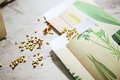 Papiernictvo - Papierové sáčky na semienka (do záhrady) - 9379786_