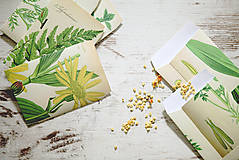 Papiernictvo - Papierové sáčky na semienka (do záhrady) - 9379788_
