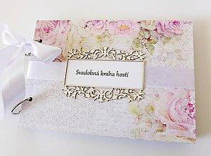 Papiernictvo - svadobná kniha hostí - 9378713_