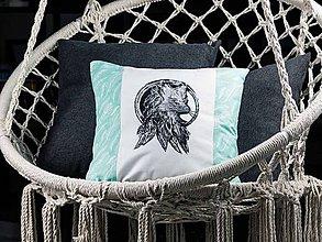 Úžitkový textil - Dekoračná obliečka - Indiánska líška - 9378483_