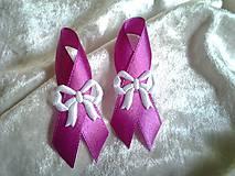 svadobné pierko biele (Ružová fuchsiová)