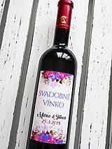 Darčeky pre svadobčanov - Etikety Colorosa - 9381143_