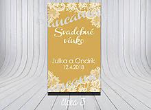 Darčeky pre svadobčanov - Etikety Čipka - 9381186_