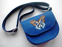 Detské tašky - Moja prvá kabelka (Motýľ) - 9379261_
