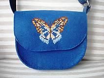 Detské tašky - Moja prvá kabelka (Motýľ) - 9379266_