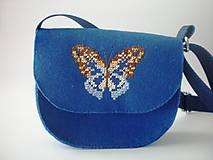 Detské tašky - Moja prvá kabelka (Motýľ) - 9379268_