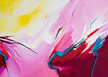 Obrazy - Obraz Storm abstraction, 70 x 50 cm, akryl na plátne - 9378676_
