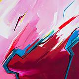Obrazy - Obraz Storm abstraction, 70 x 50 cm, akryl na plátne - 9378700_