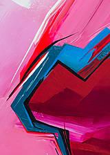 Obrazy - Obraz Storm abstraction, 70 x 50 cm, akryl na plátne - 9378709_