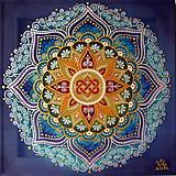 Obrazy - Mandala Harmónie, lásky a rodinnej súdržnosti - 9378085_