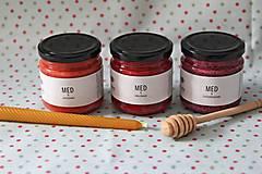 Darčekové balenie ochutených medov