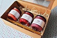 Potraviny - Darčekové balenie ochutených medov - 9378083_