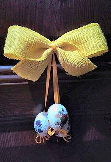 Dekorácie - vajíčka na dvere - 9381381_
