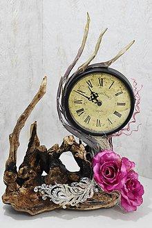 Hodiny - Ruže v čase - 9380781_
