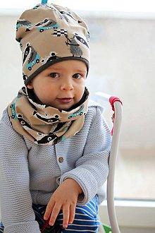 Detské súpravy - Bio bavlna set Jazvec - 9381235_