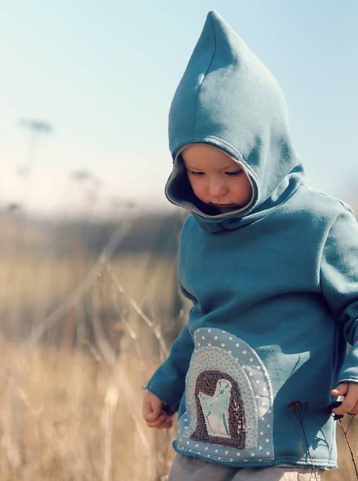Detské oblečenie - Pro skřítčí chlapečky - s laní a jelenem - 9379412_