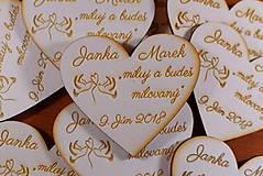 Darčeky pre svadobčanov - Svadobná magnetka drevená gravírovaná 151 - 9377878_