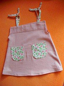 Detské oblečenie - Nolwenn - detské letné šaty - 9378943_