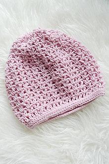 Čiapky - jarná čiapka... 100% natural... alpaka+vlna - 9383065_