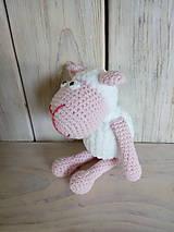 Hračky - Marshmallow ovečka - 9384760_