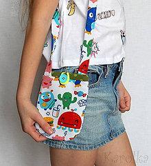 Detské tašky - Detská mini taška - Príšerky - 9383314_