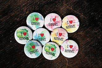 Odznaky/Brošne - odznak najlepší (I love) - 9381869_