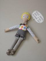 Gombíková bábika Jakubko