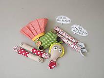 Hračky - Gombíková bábika Terezka na objednávku - 9382511_
