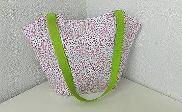 Iné tašky - Jarná kvetinová taška - 9382349_