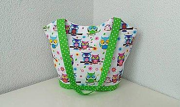 Iné tašky - Jarná sovičková taška - 9382387_