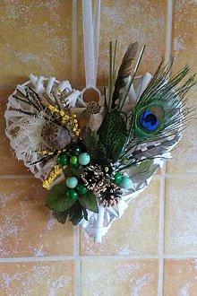 """Dekorácie - Celoročná dekorácia : """"Srdce"""" - 9382305_"""