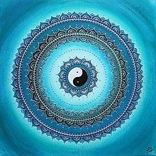 Obrazy - Mandala ZDRAVIE A IMUNITA II. 50 x 50 - 9383758_