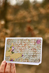 Papiernictvo - Pohľadnica romantická 5 - 9384790_