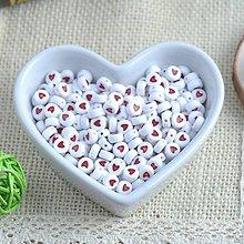 Korálky - Korálky srdiečkové - 9384202_
