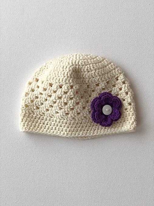 Čiapočka Flower / Flower Hat