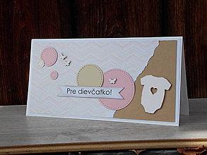 Papiernictvo - ...pohľadnica pre dievčatko... - 9384557_