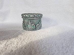 Svietidlá a sviečky - Vintage svietnik 2 - 9384184_