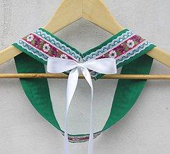 Opasky - Dámsky opasok folk zelený - 9382146_